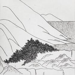 Landscape's fragment Series16