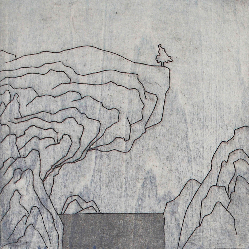 Landscape's fragment Series8