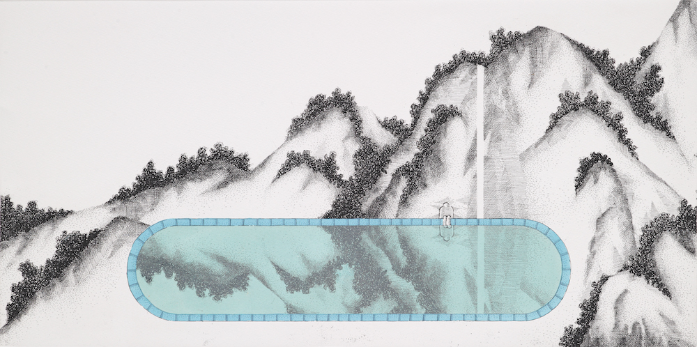 101(One O One)_etching,silkscreen_30x60cm_2014