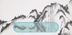 101(One O One)_etching,silkscreen_30x60cm_2014