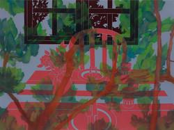 익숙한 기다림_97x130.3cm,Oil and Acrylic on canvas,2016