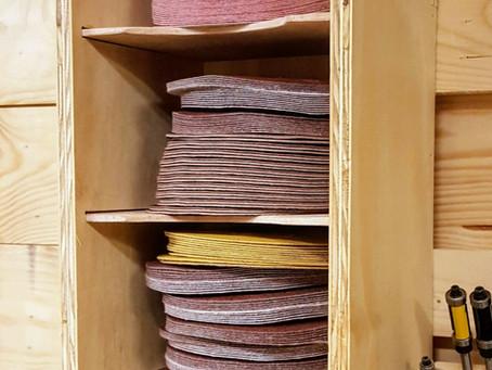Organize that Sandpaper!
