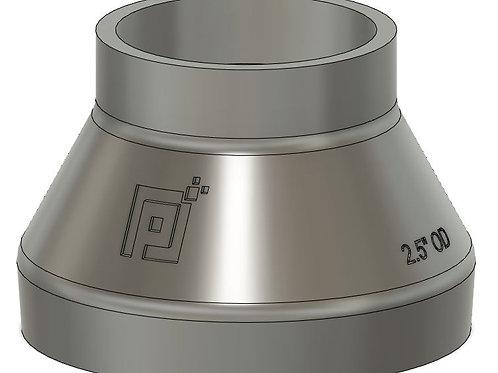 """Pixels to Prototype Dust Boot Adapter - 2.5"""""""