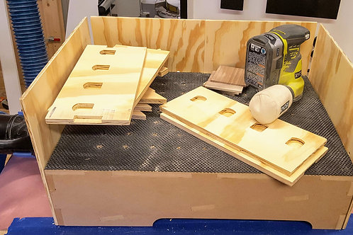 Sanding Table - Digital Files for CNC