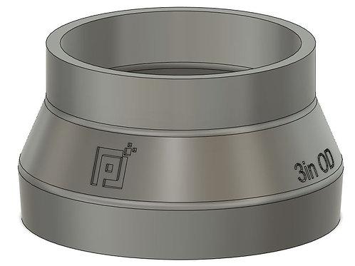 """Pixels to Prototype Dust Boot Adapter - 3"""""""