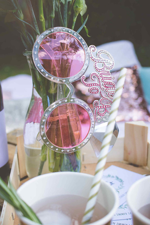 Bride to be, Brille, JGA, Junggesellinnenabschied, Bridal Party, Bridal Shower, Braut Party