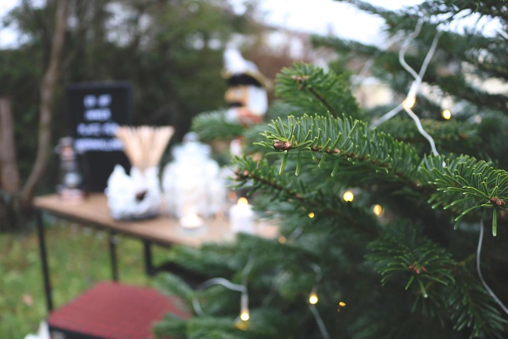 Party, Gartenparty, Winter, Winterparty, Outdoor-Party, Partydeko, Weihnachten, Weihnachtsdeko, Schneeparty, Winterfeier, Glühwein