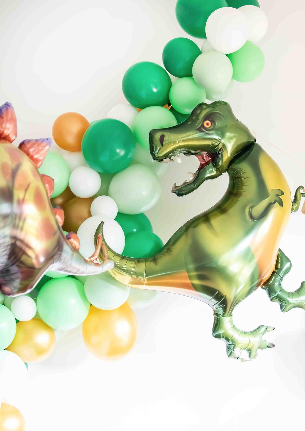 Three-Rex Party, Dino Party, Dinosaurier, Mottoparty, Kindergeburtstag, Mädchengeburtstag, Kinderdeko, Partydeko, Geburtstagsdeko