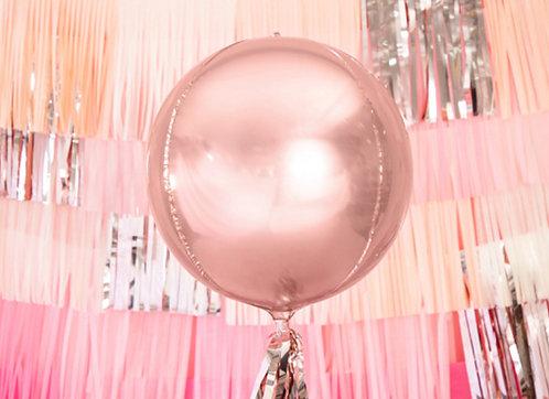 Runder Riesen-Ballon, roségold