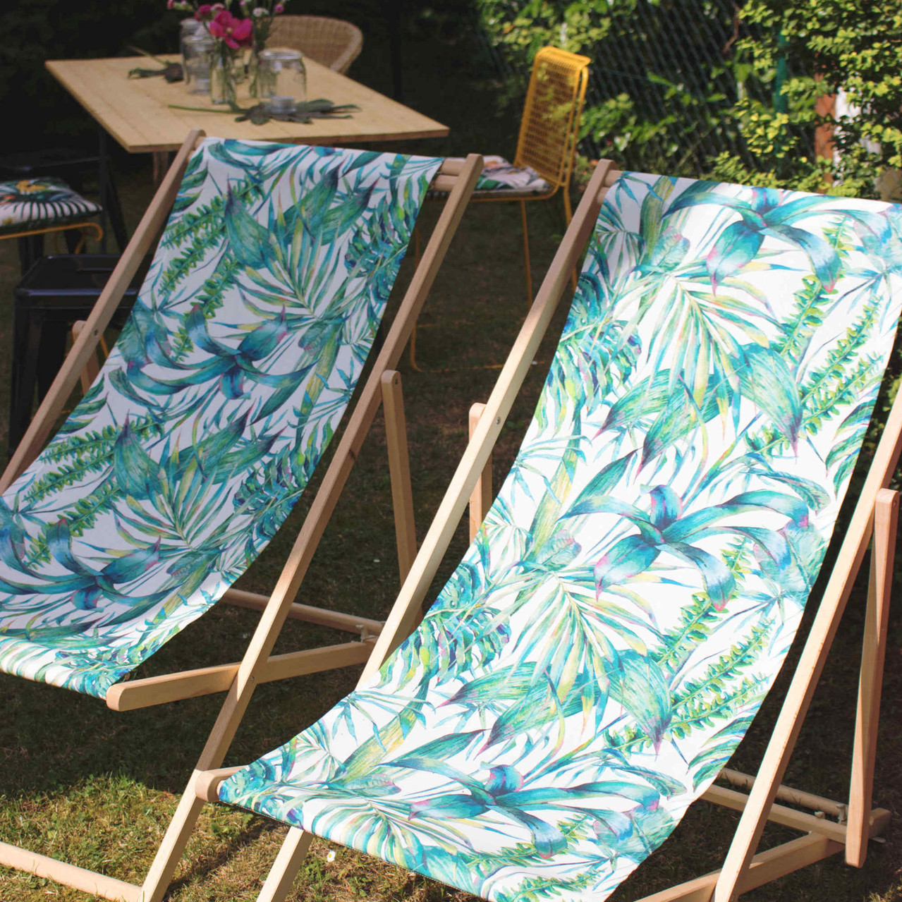 Gartenparty, Miami Style, Sommerfest, Geburtstagsfeier, Deko, Partydeko