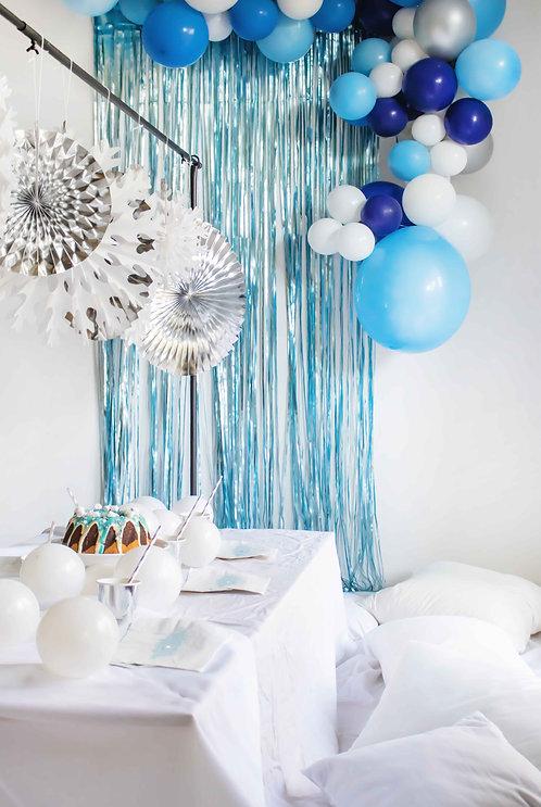 Frozen Party, Eisprinzessinnenparty, Elsa Party, Wintergeburtstag, Kindergeburtstag, Mottoparty