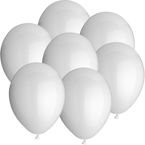 Ballon-Set, weiß