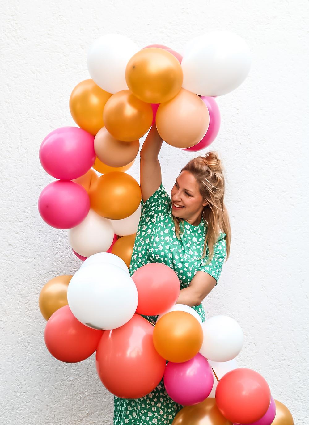 DIY, Tutorial, Ballonarche, Ballongirlande, Balloninstallation, Deko, Ballonkit, Dekokit, Ballon Set