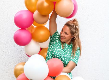Boom Boom Balloon: das Ballongirlanden-DIY