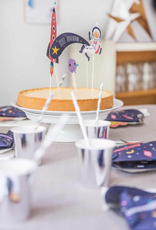 Space Party, Kindergeburtstag, Kinderparty aus der Box, Party aus der Box, Partydeko, Geburtstagsdeko, Astronautengeburtstag