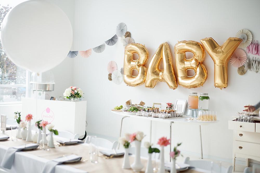 Baby Party, Baby Shower, Baby Party Box, Baby Party Deko