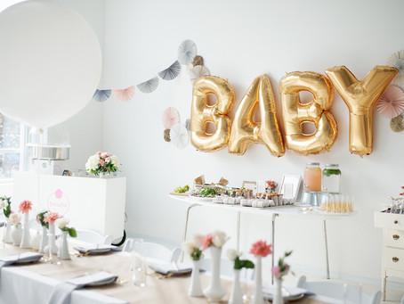 Von wegen Windeltorte: eine Baby Party kann man auch stylisch feiern!