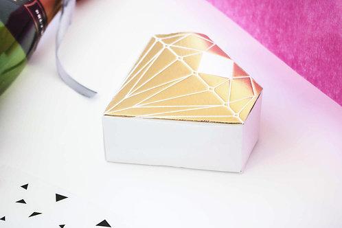 Diamantenschachtel, Trauzeugin, Mädelsgeschenk, Give away, Geschenkidee, Braidmaids
