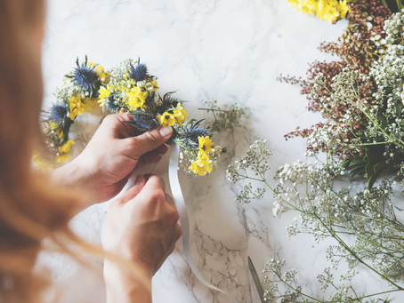Flower Power: das Blumenkranz-DIY