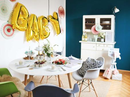3, 2, 1 – in wenigen Schritten zur tollen Baby Party