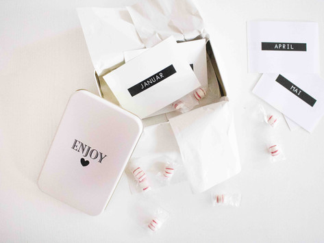 Perfekte Geschenkidee:Die Date Box