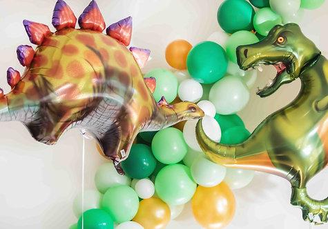 Stegosaurus, Dinoparty, Dinogeburtstag, Folienballon, Heliumballon,  Partydeko, Mottoparty, Kindergeburtstag
