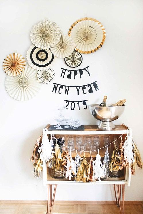 Silvester, Party aus der Box, Party in a box, Silvester Deko, NYE, Happy New Year, Silvesterdeko, Silvesterparty, Partydeko