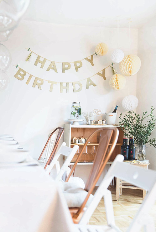 """Girlande """"Happy Birthday"""""""