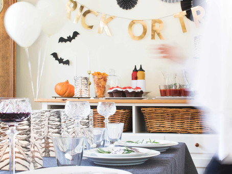 CREEP IT REAL: Halloween stylish feiern