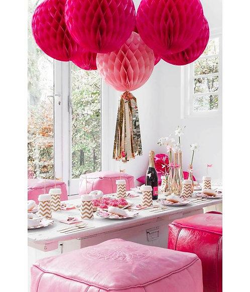Honeycombs 3er-Set pink