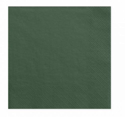 Servietten, grün, Papierservietten, Partydeko, Boho Deko, Boho Party