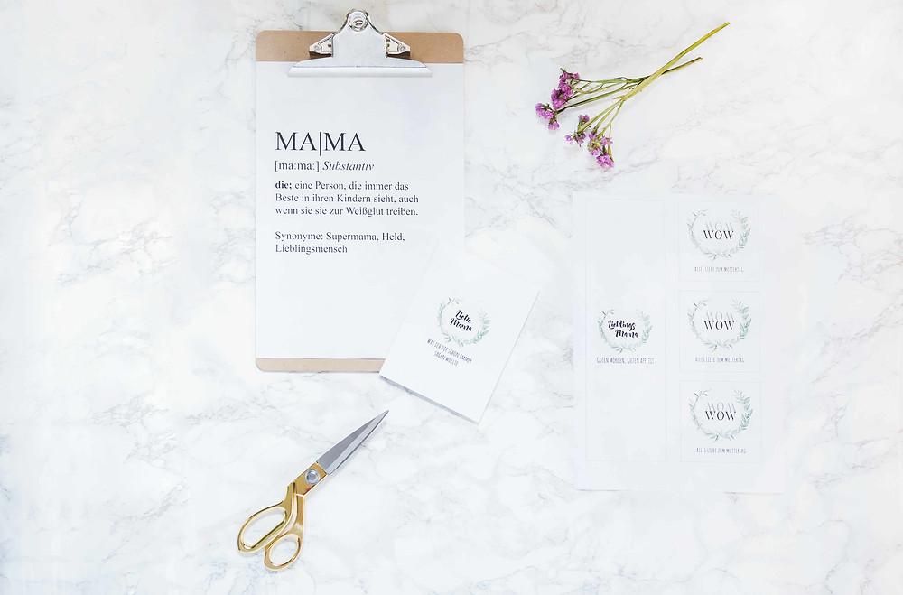 Muttertag, DIY, kleine Festschmiede, Partyideen, Dekotipps, Muttertagsgeschenk, Geschenkideen, Partyhacks
