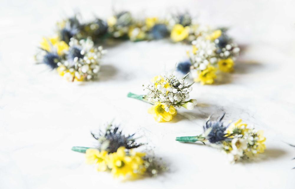 DIY, Flower Crown, Blumen binden, selber machen, selber binden, Tutorial, Blumenkranz