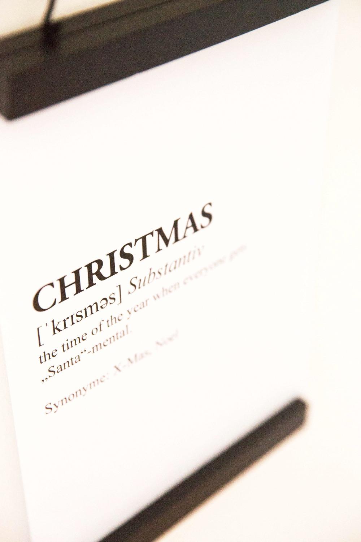 DIY, Tutorial, Last Minute, Partyhacks, Weihnachten, Freebies, Printables, Xmas, Poster