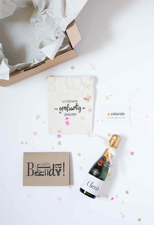 Gutschein, Geschenkverpackung, Geschenkidee, Prosecco, personalisiert