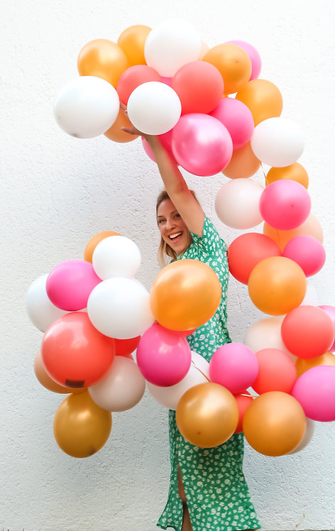 DIY Ballon-Kit in Wunschfarben