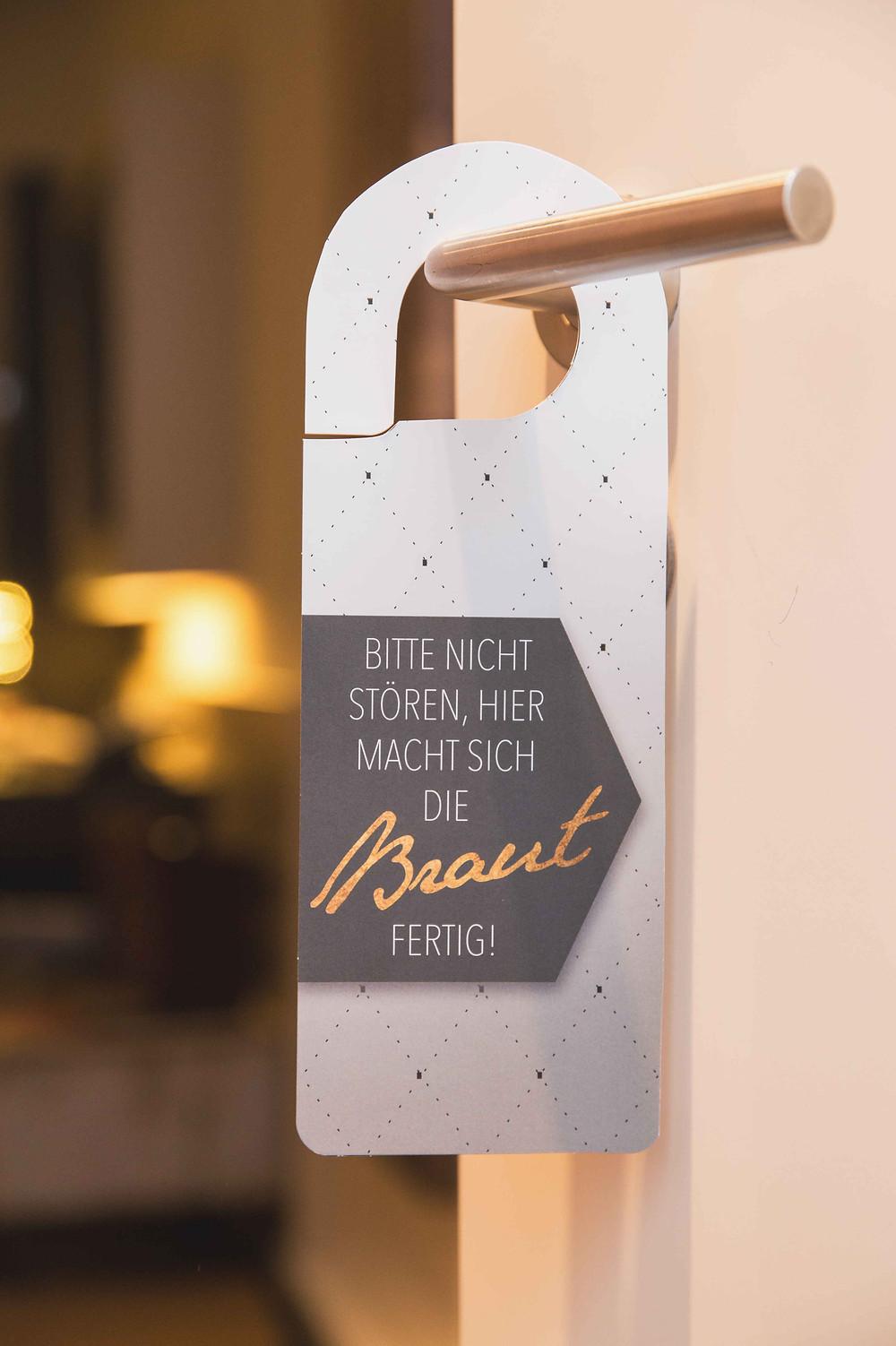 Prosecco Labels, Bridal Suite, Getting Ready, Champagne, Braut, Brautzimmer, Hochzeit, Deko-Kit, Türhänger
