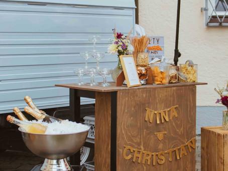 Regen bringt Segen - standesamtliche Hochzeit mit HORST in Pasing