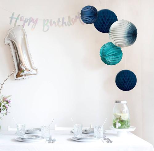 Ich Bin Eine 12 Birthday Partybox Blau