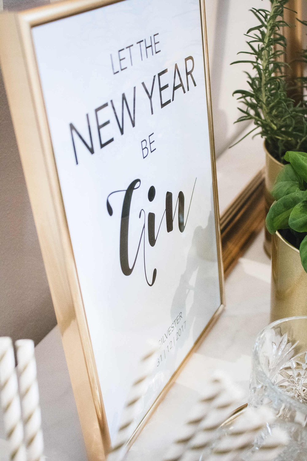 DIY, Tutorial, Last Minute, Partyhacks, Silvester, Silvesterdeko, Printables, Freebies, New Years Eve, Silvesterparty