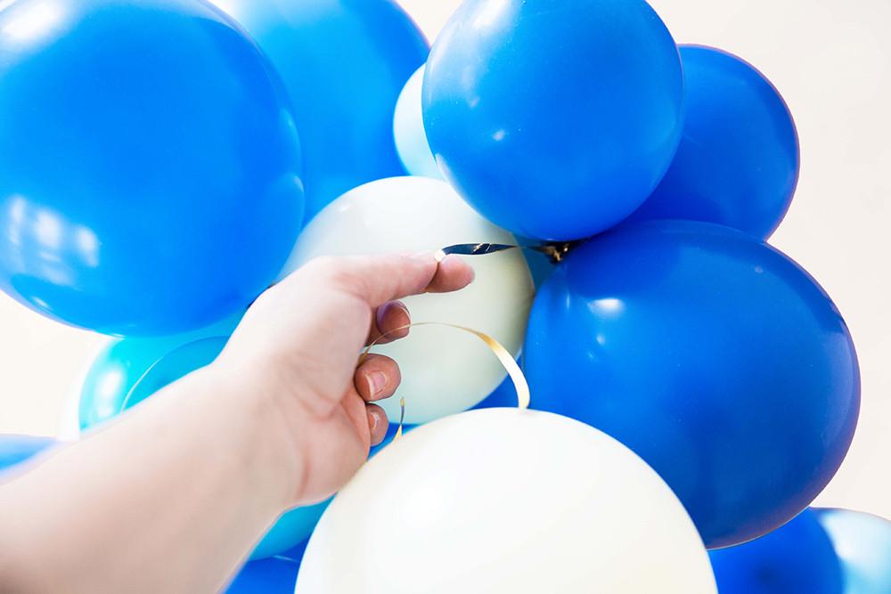 DIY, Tutorial, Ballonarche, Ballongirlande, Balloninstallation, Deko, Ballonkit, Dekokit