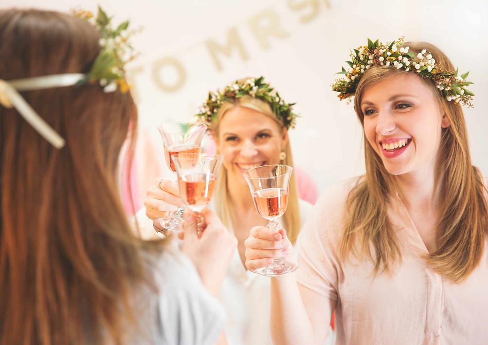 Braut Party, Jga, Junggesellinnenabschied, Bridal Shower, Hen Party, Party, Bridal Party, Partydeko