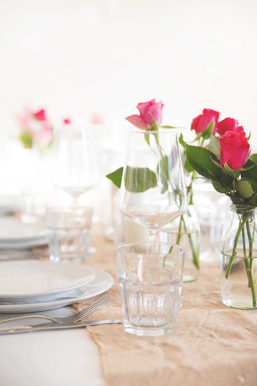 Roségoldene Party, Rosé-Party, Love, Braut Party, Baby Party, Geburtstagsparty, Partydeko, Party aus der Box, Partyidee
