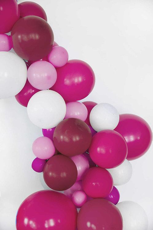 Ballon-Kit, Ballongirlande, Ballonbogen, Luftballons, pink, bunt, DIY, Hochzeitsdeko, Partydeko