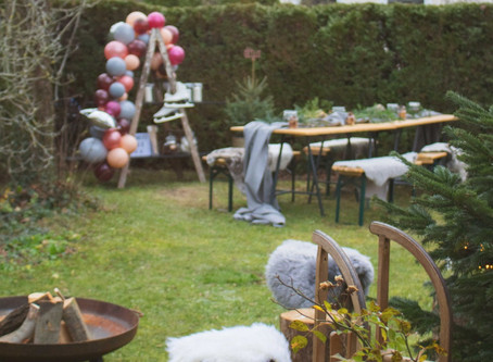 It's beginning to look a lot like Christmas: Wintersause im Garten