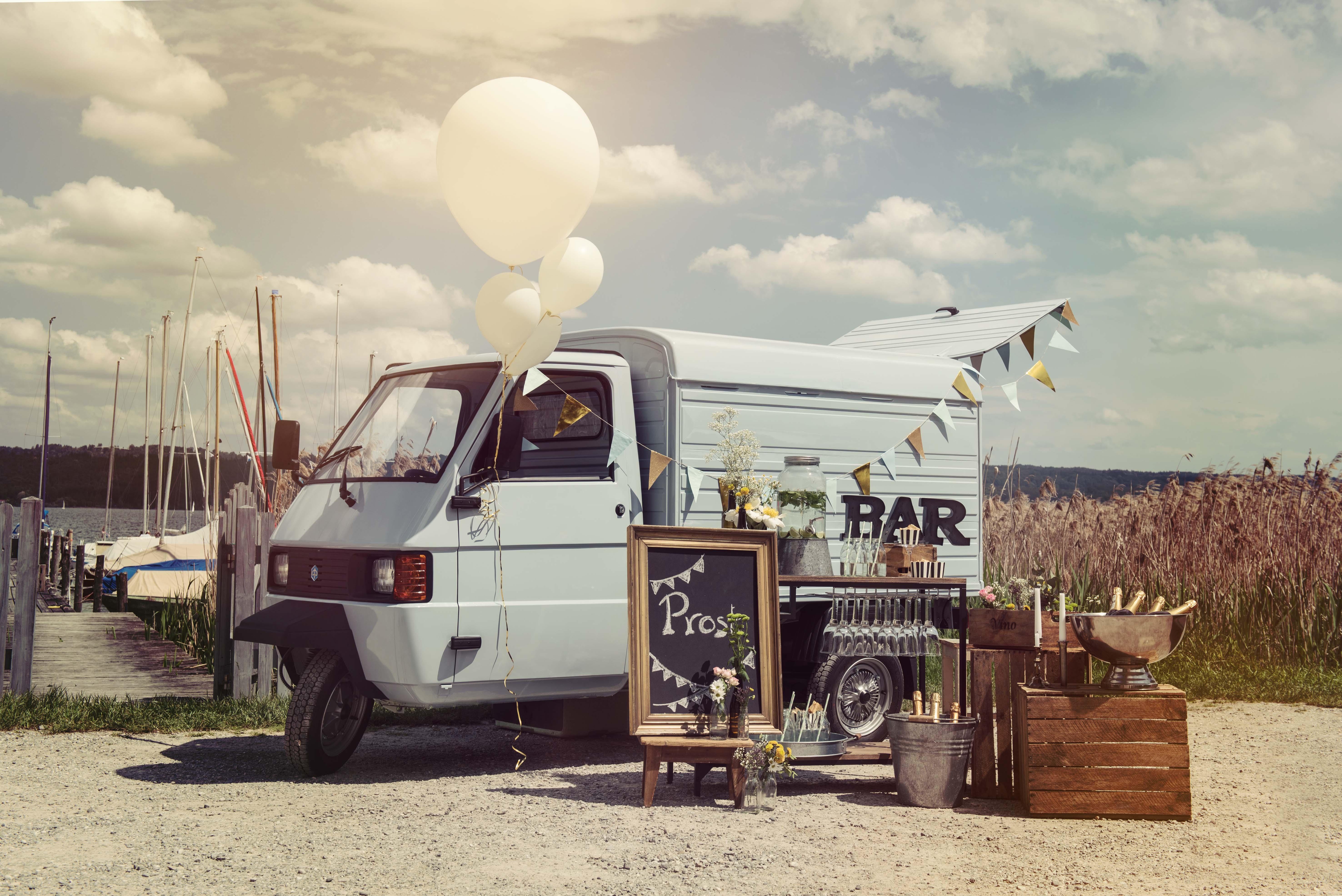 Food Truck und mobile Bar für Hochzeit