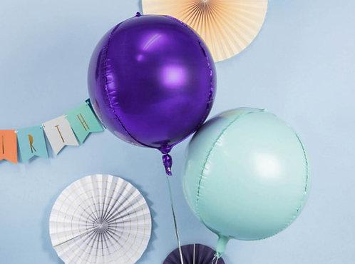 Folienballon, Heliumballon, Riesenballon, Ballontraube, mint
