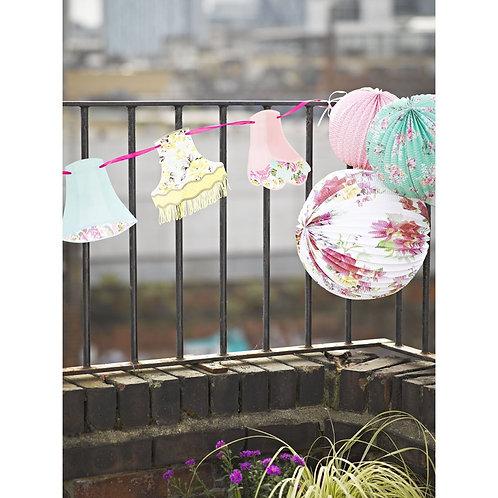 Blossom, Laternen, Blumenmuster, Boho, Deko, Dekoration, Talking Tables