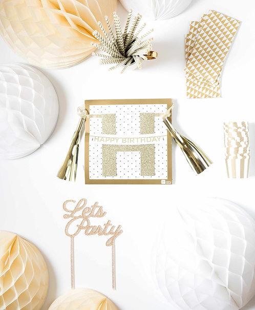 """Ich bin eine """"White Birthday Party""""-BOX"""