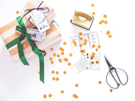 It's a wrap! FREEBIES zum Easy-Peasy-Geschenkeeinpacken